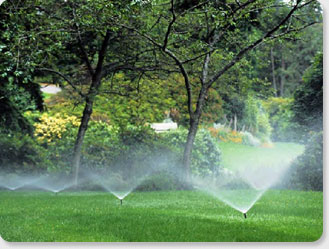 Greenville SC irrigation services